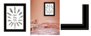 """Trendy Decor 4U Good Vibes Only by Seven Trees Design, Ready to hang Framed Print, Black Frame, 15"""" x 19"""""""