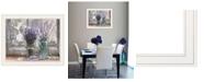 "Trendy Decor 4U Abundance of Beauty by Lori Deiter, Ready to hang Framed Print, White Frame, 23"" x 19"""