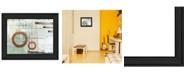 "Trendy Decor 4U Balance this I by Cloverfield Co, Ready to hang Framed Print, Black Frame, 19"" x 15"""