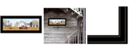 Trendy Decor 4U Trendy Decor 4U Autumn on Farm by Billy Jacobs, Ready to hang Framed Print Collection