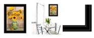Trendy Decor 4U Trendy Decor 4U Country Sunflowers I by Anthony Smith, Ready to hang Framed print Collection