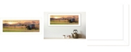 """Trendy Decor 4U Choose this Day Who You will Serve by Lori Deiter, Ready to hang Framed Print, White Frame, 22"""" x 10"""""""