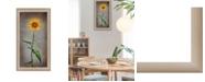 "Trendy Decor 4U Sunflower I By Lori Deiter, Printed Wall Art, Ready to hang, Beige Frame, 12"" x 21"""