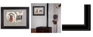 "Trendy Decor 4U Trendy Decor 4U 21 Main Street by John Rossini, Ready to hang 3D Framed Print, Black Frame, 19"" x 15"""