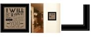 "Trendy Decor 4U Trendy Decor 4U Forever by Deb Strain, Ready to hang Framed Print, Black Frame, 15"" x 15"""