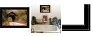 """Trendy Decor 4U Live for Today by Robin-Lee Vieira, Ready to hang Framed Print, Black Frame, 21"""" x 15"""""""