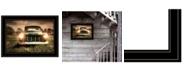 "Trendy Decor 4U Wrong Lane by Robin-Lee Vieira, Ready to hang Framed Print, Black Frame, 21"" x 15"""