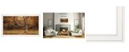 "Trendy Decor 4U Reach Out by Robin-Lee Vieira, Ready to hang Framed print, White Frame, 32"" x 18"""
