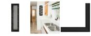 "Trendy Decor 4U Trendy Decor 4U 7-Peg Mug Rack by Millwork Engineering, Black Frame, 8"" x 27"""