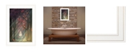 """Trendy Decor 4U Path of Happiness by Martin Podt, Ready to hang Framed Print, White Frame, 15"""" x 21"""""""