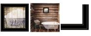 "Trendy Decor 4U Wash by Misty Michelle, Ready to hang Framed Print, Black Frame, 15"" x 15"""