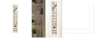 """Trendy Decor 4U Kitchen Is The Heart of The Home by Millwork Engineering, Ready to hang Framed Print, White Frame, 7"""" x 32"""""""