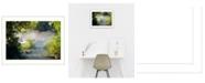 "Trendy Decor 4U Beauty By Trendy Decor4U, Printed Wall Art, Ready to hang, White Frame, 15"" x 11"""