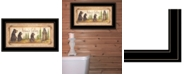 """Trendy Decor 4U Natures Calling by Mary Ann June, Ready to hang Framed Print, Black Frame, 11"""" x 19"""""""