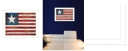 """Trendy Decor 4U Land of the Free By Marla Rae, Printed Wall Art, Ready to hang, White Frame, 26"""" x 20"""""""