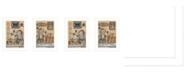 "Trendy Decor 4U Where Family Friends Gather II 2-Piece Vignette by Mary Ann June, White Frame, 14"" x 20"""