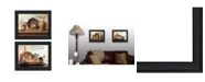 """Trendy Decor 4U By Grace Collection By Susan Boyer, Printed Wall Art, Ready to hang, Black Frame, 38"""" x 15"""""""