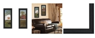 """Trendy Decor 4U Country Barns Collection By Billy Jacobs, Printed Wall Art, Ready to hang, Black Frame, 8"""" x 20"""""""