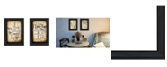 """Trendy Decor 4U Sentiment Collection By Susan Ball, Printed Wall Art, Ready to hang, Black Frame, 20"""" x 14"""""""