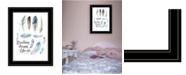 "Trendy Decor 4U Breathing Dreams Like Air by Seven Trees Design, Ready to hang Framed Print, Black Frame, 15"" x 19"""