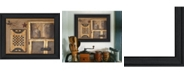"""Trendy Decor 4U Country Treasures By Pam Britton, Printed Wall Art, Ready to hang, Black Frame, 19"""" x 15"""""""