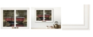 """Trendy Decor 4U Warm Summer's Eve by Billy Jacobs, Ready to hang Framed Print, White Window-Style Frame, 19"""" x 15"""""""