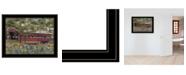 "Trendy Decor 4U Pottersburg Bridge by Billy Jacobs, Ready to hang Framed Print, Black Frame, 27"" x 21"""