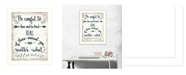 """Trendy Decor 4U Be Careful by Annie LaPoint, Ready to hang Framed Print, White Frame, 18"""" x 14"""""""