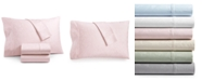 AQ Textiles Bergen House Woven Floral Vine 4-Pc. Full Sheet Set, 1000-Thread Count 100% Certified Egyptian Cotton