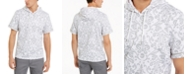 INC International Concepts I.N.C. Men's Regular-Fit Damask-Print Hoodie, Created For Macy's
