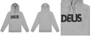 Deus Ex Machina Deus Ex Machine Men's All Caps Regular-Fit Brushed Fleece Logo Hoodie
