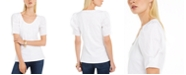 INC International Concepts INC Puff-Sleeve T-Shirt, Created For Macy's