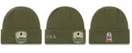 New Era Washington Redskins On-Field Salute To Service Cuff Knit Hat