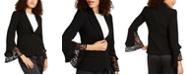 Nanette Lepore Lace-Sleeve Blazer