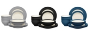 Noritake Colorwave  Rim 12-Piece Dinnerware Set, Service for 4, Created For Macy's