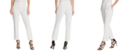 DKNY Petite Belted Straight-Leg Pants