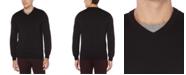 Perry Ellis Men's End-On-End V-Neck Sweater