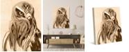 "Creative Gallery Neutral Painted Eagle 36"" x 24"" Canvas Wall Art Print"