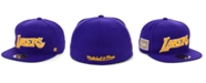 Mitchell & Ness Los Angeles Lakers Hardwood Classic Patch Fitted Cap