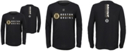 Outerstuff Little Boys Boston Bruins Deliver Long Sleeve T-Shirt