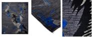 "Timeless Rug Designs One of a Kind OOAK1824 Slate 5'2"" x 8'1"" Area Rug"