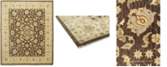 "Timeless Rug Designs CLOSEOUT! One of a Kind OOAK114 Brown 8'5"" x 9'10"" Area Rug"