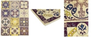 """Timeless Rug Designs CLOSEOUT! One of a Kind OOAK154 Lavender 6'10"""" x 8'8"""" Area Rug"""