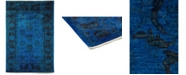 Timeless Rug Designs CLOSEOUT! One of a Kind OOAK3651 Sapphire 6' x 9' Area Rug
