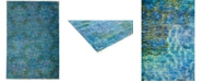 """Timeless Rug Designs CLOSEOUT! One of a Kind OOAK3243 Turquoise 6' x 8'10"""" Area Rug"""