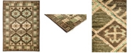 "Timeless Rug Designs CLOSEOUT! One of a Kind OOAK3177 Brown 6'3"" x 8'7"" Area Rug"