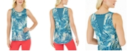 Ideology Tropical Fusion Printed Tank Top, Created for Macy's