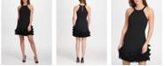 GUESS Pleated Ruffle Dress