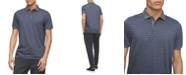 Calvin Klein Men's Regular-Fit Yarn-Dyed Engineered Stripe Polo Shirt