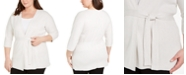 Eileen Fisher Plus Size Organic Cardigan